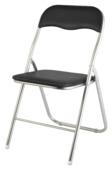 Chaise-pliante, noir