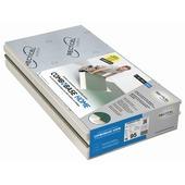 Recticel Combobase Home pirplaat 4 zijden tand en groef 120x60x9,5 cm + 9 mm spaanplaat R=4,1 1,44m² 2 stuks
