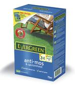 Evergreen anti-mos en gazonmest 200 m²