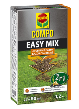 Engrais et semences gazon Easy Mix Compo 1,2 kg