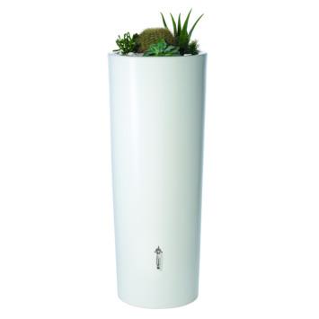 Garantia Regenton met plantenbak wit 350 Liter