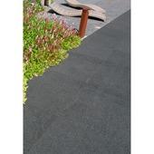 Terrastegel Diamond keramisch 80x80x2 cm zwart