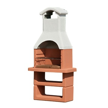 Barbecue beton Nizza grijs 360 kg