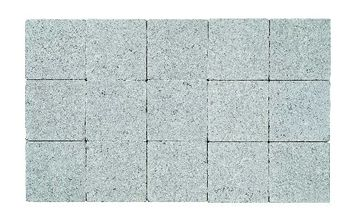 Kasseien Beton Getrommeld Grijs 15x15x6 cm - 120 Stuks / 2,76 m2