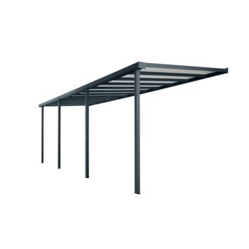Bruynzeel terrasoverkapping/ carport antraciet 732 x 360 cm