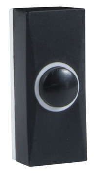 Bouton de sonnette Byron 7900 noir
