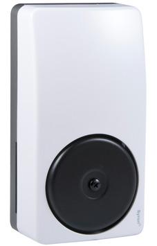 Sonnette de porte et bouton Byron 1217 blanc