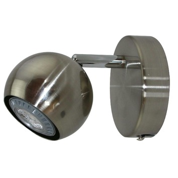 GAMMA Ronda spot met LED 4W aluminium