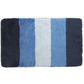 Gamma badmat blauw gestreept 60x90 cm