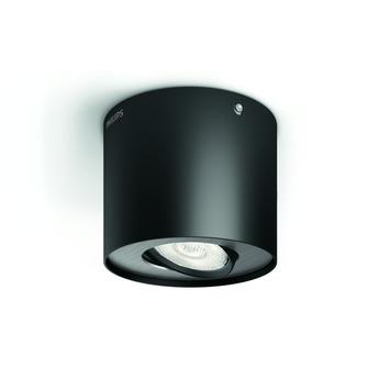 Spot Phase Philips LED intégré 4,5W = 30W noir