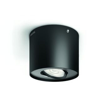 Philips Phase spot met geïntegreerde LED 4,5W =  30W zwart