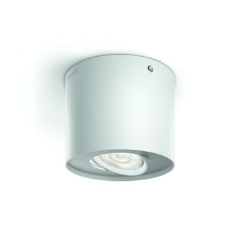 Spot Phase Philips LED intégré 4,5W = 30W blanc