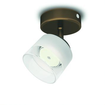 Philips Fremont spot met geïntegreerde LED 4W = 31W brons