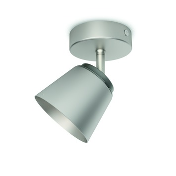 Spot Dender Philips LED intégré 4W = 31W nickel