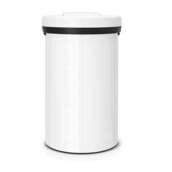 Poubelle Big Bin Brabantia 60 L blanc