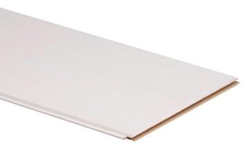 Lambris En Mdf Ok 7 Mm 130x19 Cm 222 M² Brut Pin Blanc