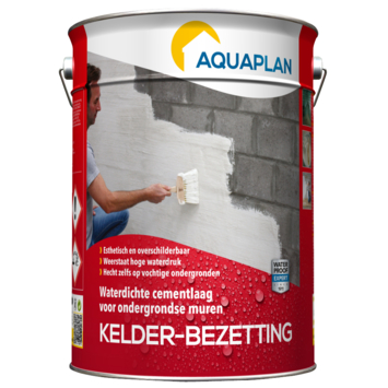 Aquaplan Kelder-bezetting cementcoating waterdicht 5 kg