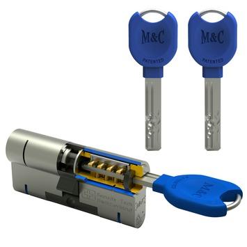 M&C veiligheidscilinder 32/32 SKG 3-sterren