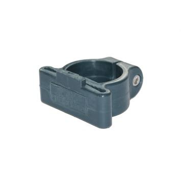 Hoekklem voor profielpaal 48 mm ral 7016 antraciet