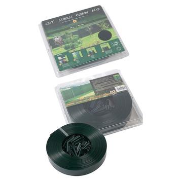 Lanière à clips 50 mm RAL6005 vert