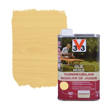 V33 tuinmeubelolie mat kleurloos 500 ml