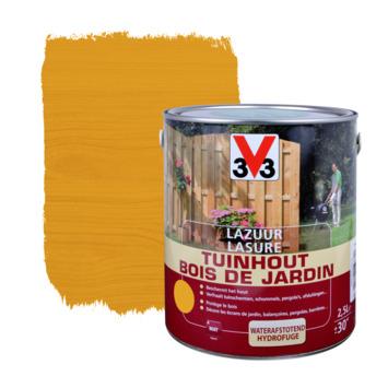 Lasure bois de jardin V33 mat brun clair 2,5 L