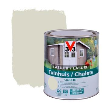 V33 beits tuinhuis color zijdeglans salar grey 750 ml