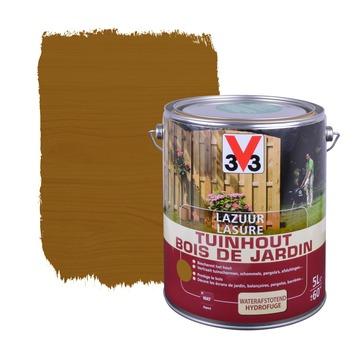 V33 beits tuinhuis zijdeglans donkerbruin 5 L