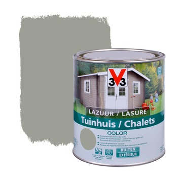 V33 beits tuinhuis color zijdeglans moonstone 750 ml
