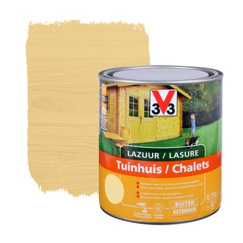 Lasure chalets V33 satin incolore 750 ml