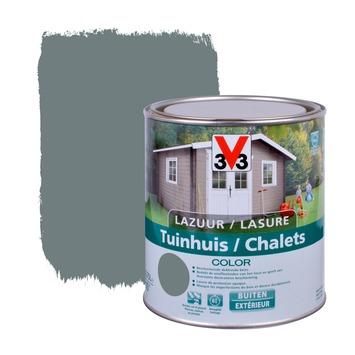 V33 beits tuinhuis color zijdeglans windstorm 750 ml