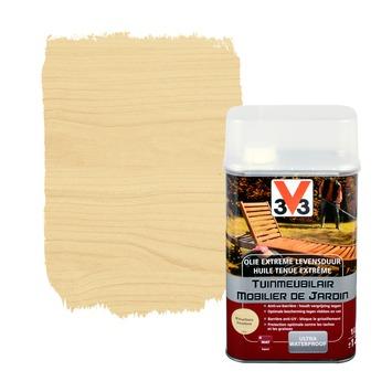 V33 tuinmeubelolie extreme levensduur mat kleurloos 500 ml