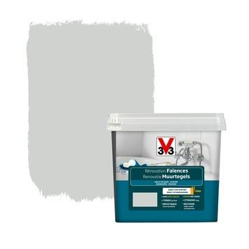 Peinture de rénovation faïences V33 satin plume 750 ml