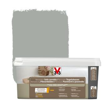 Peinture de rénovation sols carrelés V33 satin titane 2 L