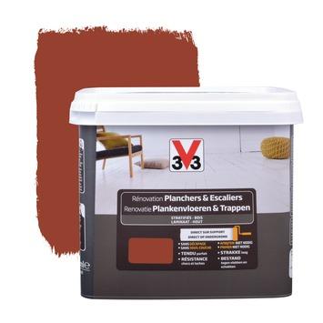Peinture de rénovation planchers & escaliers V33 satin tarmac 750 ml ...