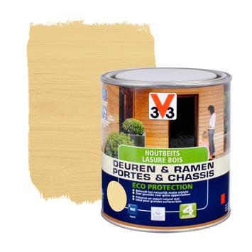 V33 Ramen & Deuren Eco Protection beits mat naturel 750 ml