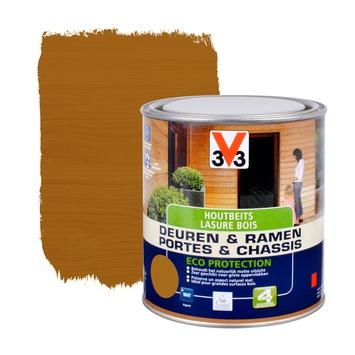 V33 Ramen & Deuren Eco Protection beits mat midden eik 750 ml