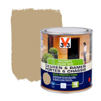 V33 Ramen & Deuren Eco Protection beits mat lei 750 ml