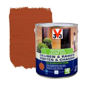 V33 Ramen & Deuren Eco Protection beits mat mahonie 2,5 L