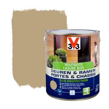 V33 Ramen & Deuren Eco Protection beits mat klei 2,5 L