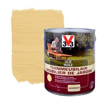 V33 tuinmeubelolie mat kleurloos 2,5 L