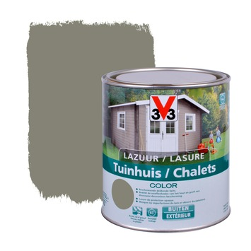 V33 beits tuinhuis color zijdeglans little river 750 ml