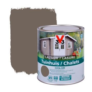 V33 beits tuinhuis color zijdeglans walnut 750 ml