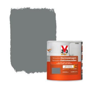 V33 renovatieverf elektrotoestellen zijdeglans carbonaat 500 ml