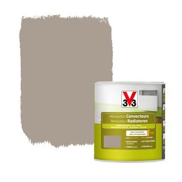 Peinture de rénovation radiateurs V33 satin taupe 500 ml