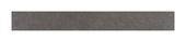 Plinthe Élément anthracite 7,2x45 cm, 5 pièces