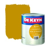 Peinture mur & plafond De Keyn mat 777 jaune 2,5 L