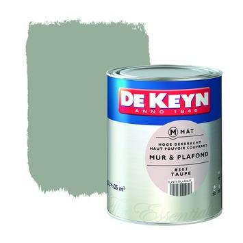 De Keyn muur- en plafondverf mat 307 taupe 2,5 L
