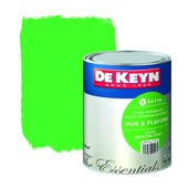 Peinture mur & plafond De Keyn satin 523 vert 1 L