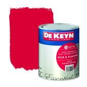 Peinture mur & plafond De Keyn satin 576 rouge 1 L